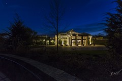 Longwood Gardens Conservatory (richarddonham) Tags: lowlight conservatory longwoodgardens goldenhour chestercounty