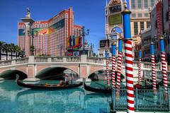 Las Vegas: Gondola Ride (Lee Nichols) Tags: photoshop hotel lasvegas sunny bluesky casino gondola venetian hdr highdynamicrange lasvegasboulevard thevenetian lasvegasstrip photomatix gondolaride tonemapped tonemapping handheldhdr canoneos600d theventianhotellasvegas