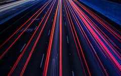 behind the lines (pbo31) Tags: california red black color night nikon highway traffic over bayarea april eastbay livermore alamedacounty 580 expresslane 2016 lightstream boury pbo31 d810