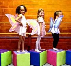 Young Winged Butterfly Ballet Dancers (Chic Bee) Tags: arizona ballet kids studio wings dancers tucson butterflies posing angels cubes abt props mugging ballerinas dancestudio pedestals iphone5 arizonaballettheatre misscecily photoshootinstudio women2016performances