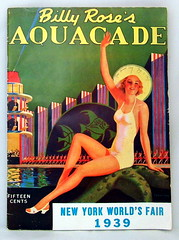 Vintage Billy Rose's Aquacade Booklet For The 1939 New York World's Fair (France1978) Tags: worldsfair 1939newyorkworldsfair billyrosesaquacade
