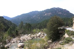 The Solenzara River (demeeschter) Tags: trees france mountains nature forest river landscape rocks corse corsica canyon gorge solenzara