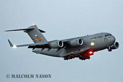 C17A GLOBEMASTER 3 01-0193 USAF (shanairpic) Tags: military usaf c17a 437aw globemaster3 010193