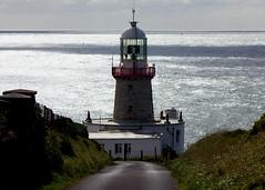 Journey to the light (ken Dowdall) Tags: ireland sea howth lighthouse water waves irishsea codublin bailylighthouse