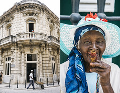 Magdalena in Cuba (Jorge Quinteros) Tags: travel streets portraits diptych cuba assignment 2016 sonya7ii