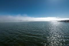 Sumuu (miikajom) Tags: light sea sun mist fog suomi finland spring helsinki tokina meri lauttasaari sumu kevt laaja