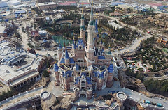 Aerial Pictures Of The Shanghai Disneyland Theme Park (PhotographyPLUS) Tags: pictures graphics photos illustrations images stockphotos articles footage stockimage freephoto stockphotograph