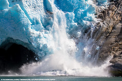Northwestern Glacier (SeriouslyFunny Photography) Tags: ocean park ice nature water alaska bay glacier anchorage national change inlet fjord northwestern anc climate warming seward kenai fjords global calving