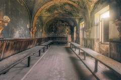 pious (Andy Schwetz - I LOVE DECAY) Tags: sunlight abandoned church mood decay forgotten urbanexploration mold kloster monastero urbex lostplace lostintime sigma1020mmf35 ilovedecay canoneos60d monseraty andyschwetz