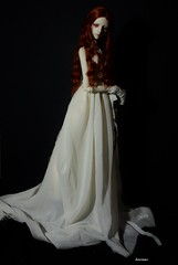 The lady in white 3 (karasu35) Tags: christina bjd dollchateau