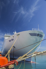 Baja Star (3) (gro-fx) Tags: sea harbor muelle mar barco ship proa