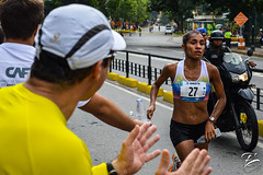 Maratn CAF 2016 (fe_photograpy) Tags: costa colombia marathon venezuela flag rica bandera runners kenia caf chacao maratn corredores 42k