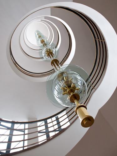 Architecture Haus des Deutschen Metallarbeiterverbandes Treppenhaus
