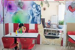 Fast exit (berturu) Tags: door city k circle market tram vietnam saigon circlek hochiminh 2016