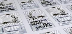 Newport Beach Film Festival Metal VIP Cards (metalkards) Tags: news film festival metal cards steel vip stainless kards