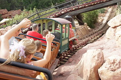 Big Thunder Mountain Railroad in Disneyland (GMLSKIS) Tags: bigthundermountainrailroad disney california amusementpark anaheim disneyland