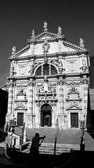 A week from today! (Chiesa San Moise, Venice) (cbonney) Tags: venice italy church san italia canals chiesa marco gondola venezia gondolier moise