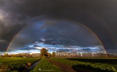 Under The Dome  ( Stephen King ) (betuwefotograaf) Tags: holland dutch landscape rainbow betuwe hollandselucht betuwefotograafnl