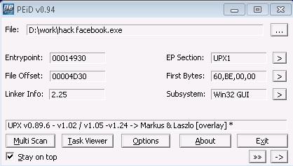 លើលោកនេះពិតជាមានកម្មវិធីសម្រាប់ Hack គណនី Facebook ដែរឬទេ?