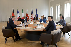 PM at G5 meeting in Germany (The Prime Minister's Office) Tags: uk london photo government pm primeminister downingstreet 2016 10downingstreet davidcameron presidentbarackobama chancellormerkel presidenthollande georginacoupe primeministerrenzi