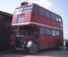 FXT252 (21c101) Tags: fxt252 aec rt77 londontransport aecregent 1975 2rt chiswick 1940