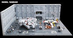 LEGO Star Wars Rebel Hangar 01 (tastenmann77) Tags: starwars lego hangar xwing rebels