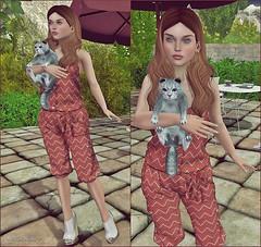 ..:* Look 1484 *.: ( Auryn Ruby ) Tags: ikon oleander entice slink lelutka glamaffair kustom9