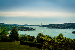 DSC06436 (Orhan Kl) Tags: city bridge sea water turkey boat outdoor istanbul bosphorus otatepe sonysel35mmf18 sonya6000