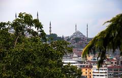 from Topkap (jrseikaly) Tags: from new blue urban art architecture turkey jack photography high view dynamic istanbul mosque ottoman range topkapi hdr tr islamic seikaly jrseikaly