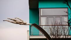 Flying (c.richard) Tags: sculpture streetart modern flying portishead somerset sculpturetrail lucyglendinning