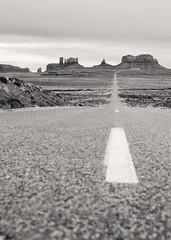 Mile Marker 13, Highway 163. Monument Valley. (Highlandsnapper) Tags: travel arizona blackandwhite usa southwest nature photoshop canon landscape utah us ut scenery raw desert indian scenic az adobe fullframe monumentvalley fourcorners reservation 6d americansouthwest coloradoplateau 2015 navajonation themittens triballands