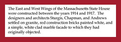 East and West Wings, 1914-1917 (State Library of Massachusetts) Tags: wings additions eastwing westwing massachusettsstatehouse rclipstonsturgis williamchapman robertdandrews