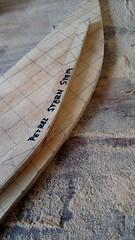 017 - Stern form (alliomd) Tags: boat kayak forms stern petrel woodboat woodkayak