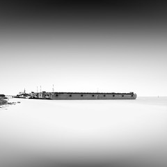 ... (alexey sorochan) Tags: longexposure bridge sea blackandwhite seascape storm black beach nature water monochrome fog clouds port river photography coast harbor photo waves stones steps foggy odessa ukraine minimal urbanexploration prints summertime traveling shipyard kiev kyiv seaport breakwater fineartphotography calmwater blacksky ndfilter watersteps dnieper dnipro daytimelongexposure sealandscape smoothwaves milkwater beautifulprints wavecutter minimalisticphotography simpleforms simpleseascape timewaves stepsintothesea ndstopfilter watersidesea printsofnature longexposureprints minimalisticprints beautifulminimalistshot
