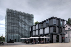 kunsthaus bregenz 14-08-20 5540_1_2Enhancer (esuarknitram) Tags: museum sterreich architektur bodensee glas peterzumthor