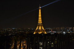 (IlPoliedrico) Tags: paris night nightlights toureiffel luci francia arcdetriomphe notte parigi fari