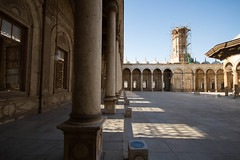 columns and shadows (Dissonancefalling) Tags: egypt cairocitadel mosqueofmuhammadali