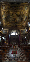 Venise 13/12/2015 (mycenium) Tags: church canon italia interior interieur 17 40 usm grip venise venezia eglise italie plafond 6d
