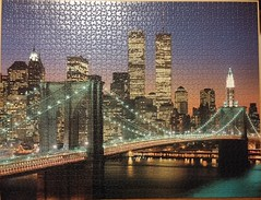 New York City: Brooklyn Bridge und Manhattan (sci-fi-fan) Tags: newyork puzzle stdte ravensburger