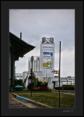 Jiffy Mix  Chelsea MI (the Gallopping Geezer 3.6 million + views....) Tags: food building cooking sign mi rural canon logo chelsea michigan country structure business company signage dine product tamron smalltown jiffy geezer corel 6d manufacturing 28300 2015 jiffymix