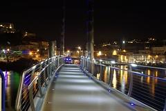 Torquay harbour bridge 25/1/16 (Hoovering_crompton) Tags: bridge sea lights harbour side torquay torbay