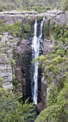 Carrington Falls, Jamberoo, Kangaroo Valley, Budderoo National Park, NSW (Jim 03) Tags: park spectacular waterfall december jim falls national kangaroo valley gorge 50 carrington 2015 budderoo metres jamberoo jimhoffman jhoffman jim03 wwwflickrcomphotosjhoffman2013 wwwjimahoffmancom