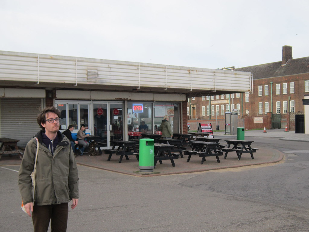 Skegness: Adam and the greasy spoon
