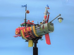 Ramona 02 (JPascal) Tags: boat flying lego