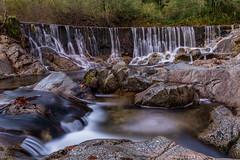 Arnera River (bienve958) Tags: longexposure rio night river landscape paisaje catalonia nocturna catalunya cascada emporda largaexposicin granito massanet maanet efectoseda daarklands arnera