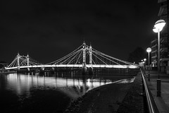 Albert Bridge London Nikon D610 (technodean2000) Tags: road city uk bridge light west reflection building london tower water thames skyline architecture night river dark photography lights golden is nikon chelsea waterfront shot outdoor south albert low capital north over bridges illumination landmarks bank structure tokina hour rivers infrastructure pro after lit battersea f28 116 londons connecting dx lightroom atx the d610 at d7100 af1116mm