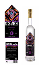 tschatscha wine label (suzy_yes) Tags: bottle winelabel etikette weinetiketten georgianwine mariazaikina