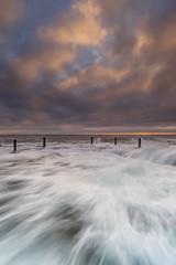 ivor rowe rockpool 2 (fromfoshan) Tags: sunrise south wave coogee rockpool
