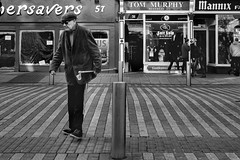 Crossing Blind (daly.daly702) Tags: street ireland monochrome crossing blind cork