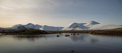 rannoch moor (Bowz999) Tags: snow mountains sunrise landscape bay scotland glencoe moor rannoch milarrochy